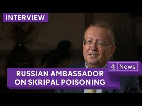 'No proof' Sergei Skripal ill in hospital: Russian Ambassador Alexander Yakovenko
