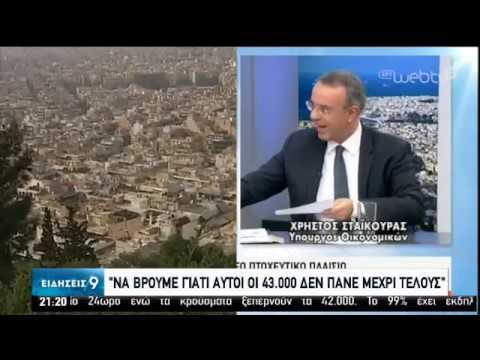 Προστασία α΄ κατοικίας: 43.000 δανειολήπτες δεν ολοκλήρωσαν τη διαδικασία | 11/02/2020 | ΕΡΤ