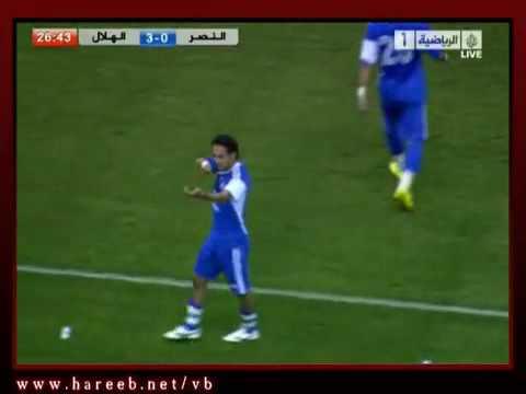 5-3)) خماسية الهلال على النصر كأس الملك 2010