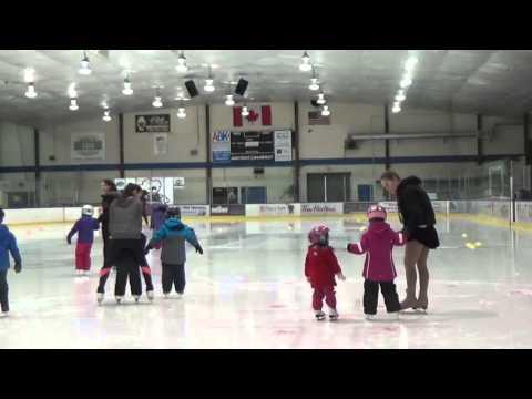 ゆう3歳2か月 アイススケート3回目