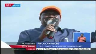 KTN Prime: Kuria Elders Vow To Back Raila For Presidency, 25th October 2016
