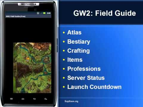Video of Guild Wars 2: Field Guide FREE