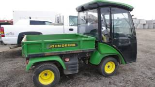 4. Lot 219 - 2007 John Deere 2030 Pro-Gator Turf Truck With Hydraulic Dump Box  - Lot 219