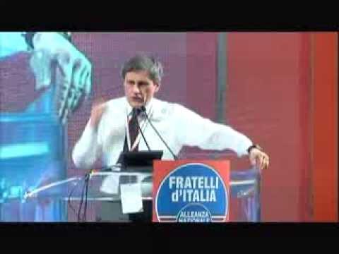 IL VIDEO DELL'INTERVENTO DI GIANNI ALEMANNO AL CONGRESSO DI FRATELLI D'ITALIA – ALLEANZA NAZIONALE