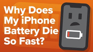 Video Why Does My iPhone Battery Die So Fast? An Apple Tech's 14 iPhone Battery Drain Fixes! MP3, 3GP, MP4, WEBM, AVI, FLV Juni 2019
