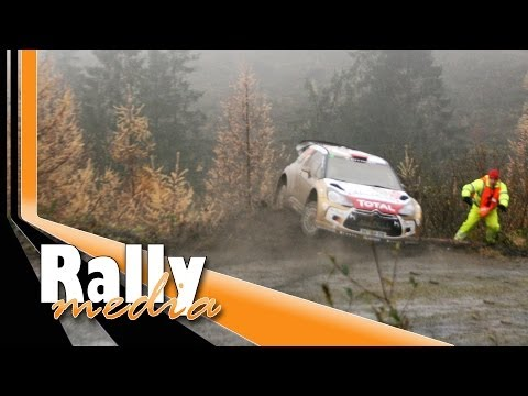 GB - Crash of Robert Kubica at the Wales Rally GB 2013, also the first phone call after the crash. Fanvideo and photos by Kamil Kurasinski, Allan Waddington and J...