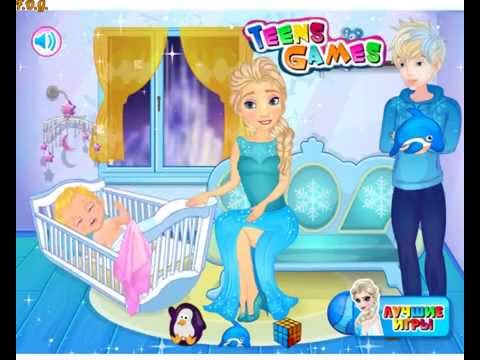 Frozen Elsa Breast Feed (Холодное сердце: Эльза кормит грудью) - прохождение игры