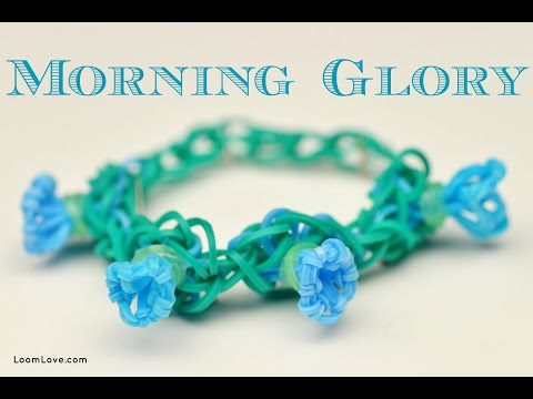 How to Make a Rainbow Loom Morning Glory Bracelet