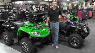 6. 2014 Arctic Cat 700 XT ATV Navy Blue or Team Arctic Green
