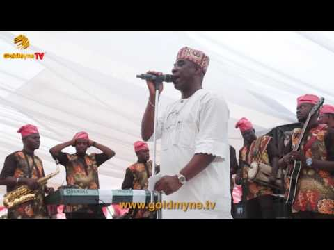K1 DE ULTIMATE'S PERFORMANCE AT AWUJALE OF IJEBULAND'S  DAUGHTER'S WEDDING