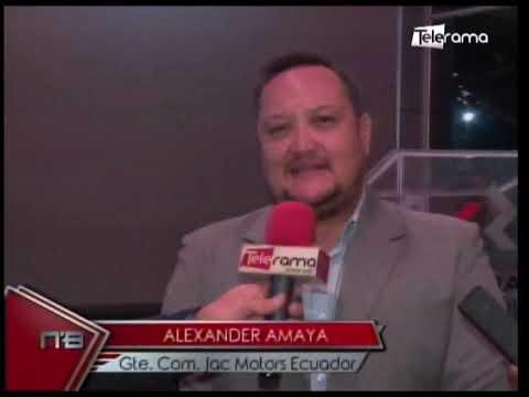 JAC Motors presentó en Guayaquil nueva camioneta T8