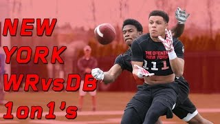 New York WR vs DB 1 on 1's | Nike Football's The Opening Regionals