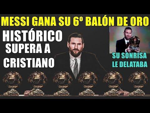 MESSI GANA EL BALÓN DE ORO 2019 - YA TIENE 6 Y SUPERA A CRISTIANO RONALDO
