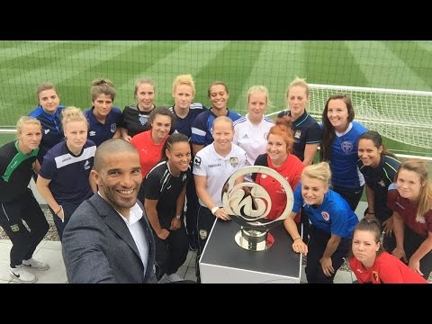 David James Launches FA WSL Continental Tyres Cup