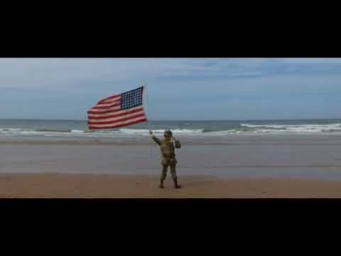 Video: An 11-Year-Old Boy, a 48-Star Flag, and a Normandy Beach