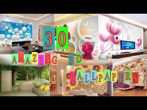 Home Design  | 30 + Amazing 3D Wallpaper Ideas| Home Decor Ideas