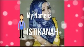 Cara Memakai Jilbab Pashmina Kashmir Istikanah Creation