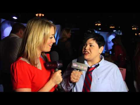 Comedian Jen Kober TV Interview at Camille Solari's Glaminlalaland at The Hollywood Improv