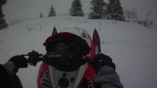 3. Ski doo 800 summit wheelies