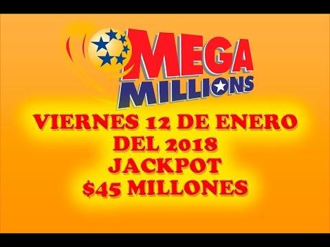 Resultados Mega Millions 12 Enero 2018 $45 Millones - Powerball en Español