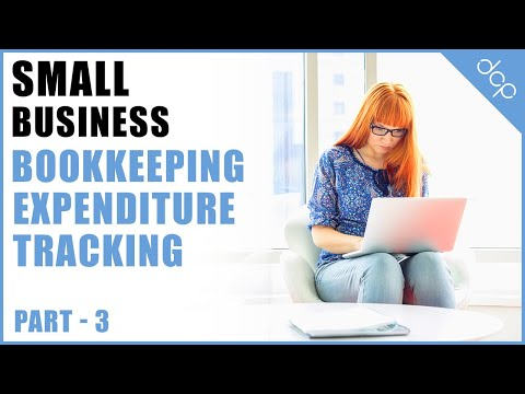 bookkeeping for small business tutorial part 3 – open office calc spreadsheet – expenditure tracking