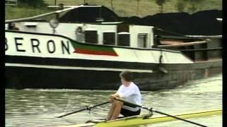 Ein Film über die Gefahren beim Rudern auf Binnenwasserstraßen.