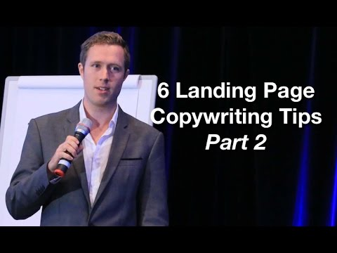 6 Landing Page Copywriting Tips Part 1