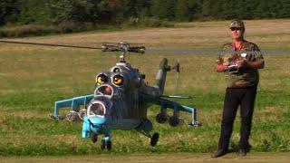 Największy helikopter zdalnie sterowany zrobiony przez Polaków.