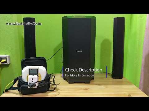 Philips MMS8085B 2.1 Home Theatre Sound Testy AKS