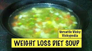 Lose Weight Fast with Weight Loss Diet Soup / Vegetarian Weight Loss Fat Burning Soup Recipe. Easy to make soup for efficient weight loss To view this video ...