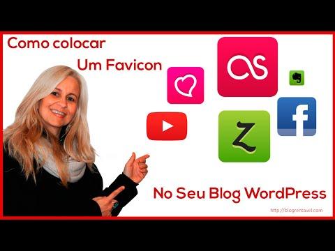 Como colocar um Favicon no seu blog WordPress