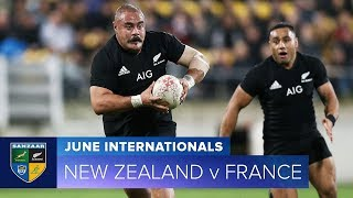 2018 June Test Series:  Third Test – New Zealand v France