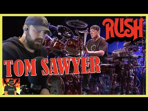 The Legendary Neil Peart!! | Rush - Tom Sawyer (Official Music Video) | REACTIONS