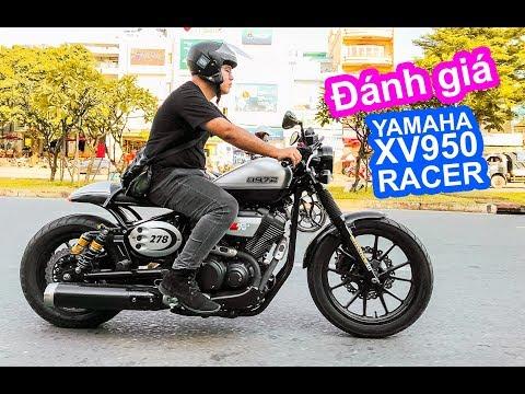 Đánh giá xe moto Yamaha XV950 Racer bản kỷ niệm 60 năm chạy 1 vòng dạo phố - Thời lượng: 15 phút.