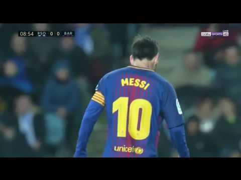 Real Sociedad vs Barcelona 2-4 FULL MATCH LaLiga 14/01/2018 Eng Commentary HD