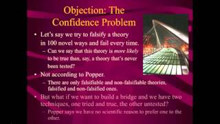 Problems with Popperian Falsificationism (Lecture 6, Video 3 of 3)