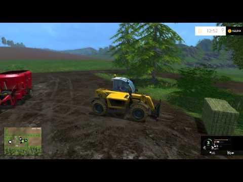 farming simulator 15 tutorials how to feeding the cows