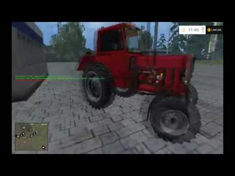 BELARUS MTZ 82 RED + FL v1.0