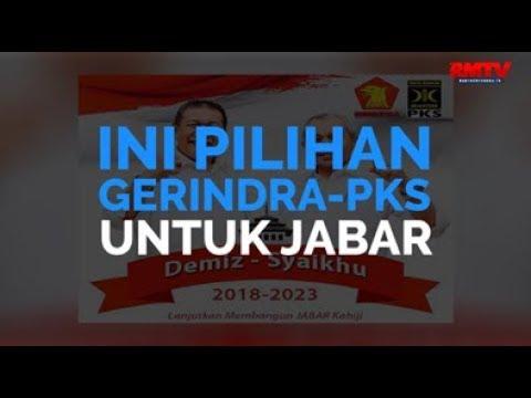 Ini Pilihan Gerindra-PKS Untuk Jabar