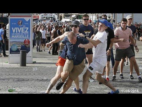 Euro 2016: Στη φυλακή έξι Βρετανοί οπαδοί για τα επεισόδια στην Μασσαλία