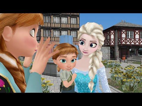 [Frozen] ELSA sings for BABY ANNA