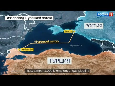 Russia's Gazprom begins offshore construction of Turkish Stream pipeline