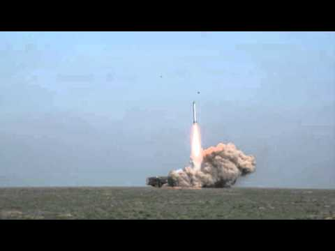 Запуск и попадание Искандера