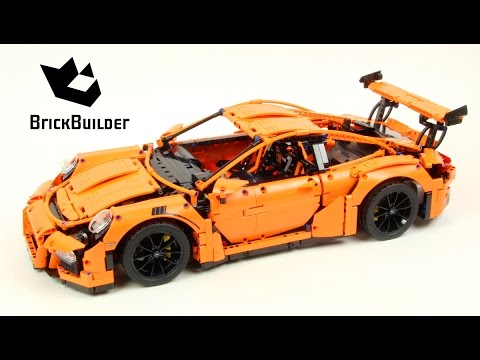 Timelapse Video Of Lego Porsche 911 GT3 RS