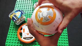 Video Unboxing BB-8 RC Robot Ball Remote Control Planet Boy with Star Wars Sound MP3, 3GP, MP4, WEBM, AVI, FLV September 2018