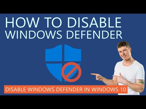 How to Disable Windows Defender Permanently?