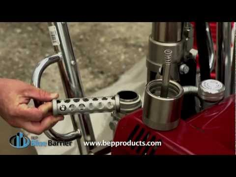 BEP Blue Barrier - Titan Spray Pump Setup
