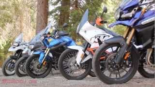 10. 2012 Adventure Touring Motorcycle Shootout