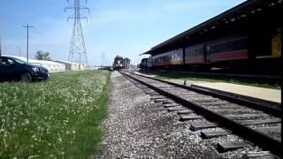 Monticello (IL) United States  city photos gallery : Illinois Central Railroad GP-11 8733 At Monticello IL May 5, 2015