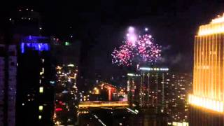 Just a little display over the Windy City, July 10, 2013...footage shot from 37th floor window